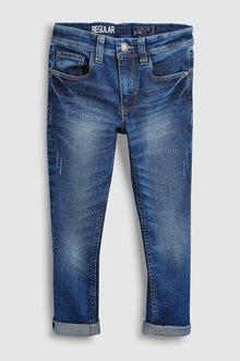 Next Five Pocket Regular Fit Jeans (3-16yrs) - 224940