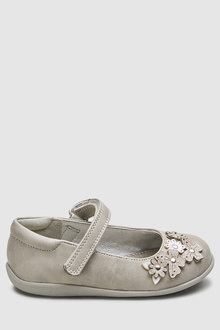 Next Butterfly Embellished Mary Jane Shoes (Younger)