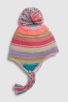 Next Stripe Trapper Hat (Older)