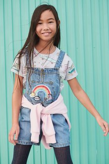 Next Unicorn Dungaree (3-16yrs)