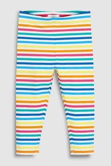 Next Rainbow Stripe Leggings (3mths-7yrs)