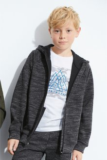 Next Sporty Zip Through Hoody (3-16yrs)