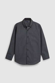 Next Long Sleeve Smart Geo Shirt (3-16yrs)