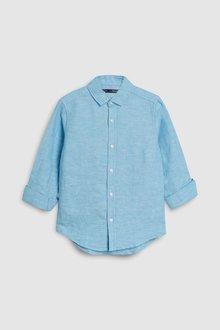 Next Long Sleeve Linen Mix Shirt (3-16yrs)