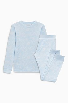 Next Thermal Cloud Top And Trousers Set (2-16yrs)