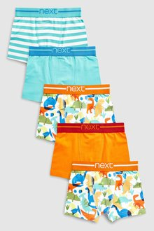 Next Dinosaur Trunks Five Pack (2-12yrs)