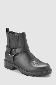 Next Chunky Western Ankle Boots (Older)