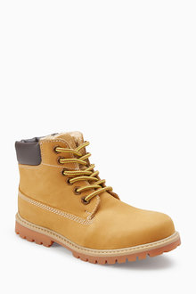 Next Leather Work Boots (Older)