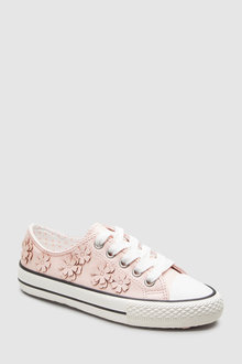 Next Flower Lace-Up Trainers (Older)