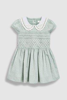 Next Shirred Collar Dress (3mths-7yrs)