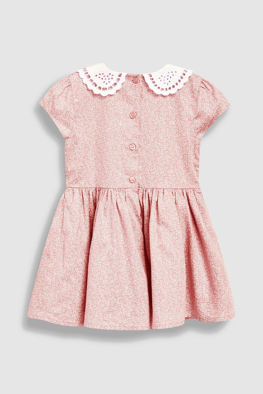 74632c747779 Next Shirred Collar Dress (3mths-7yrs) Online | Shop EziBuy