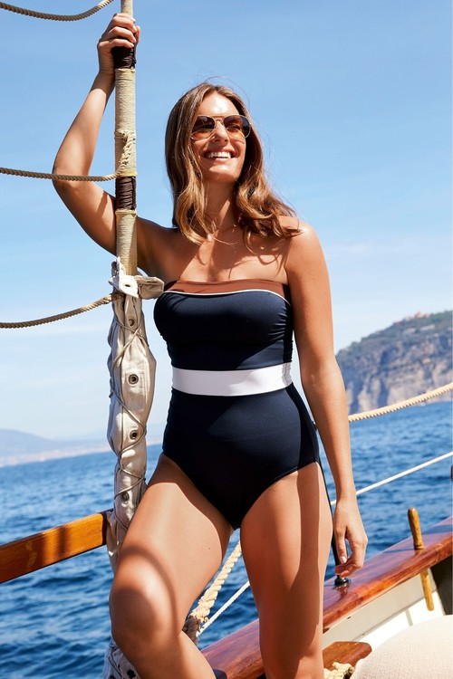 Next Bandeau Swimsuit-Tall