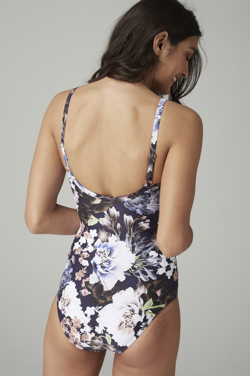ab2e5b1f74461 Next Floral Shape Enhancing Swimsuit-Tall Online | Shop EziBuy