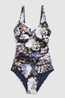 Next Floral Shape Enhancing Swimsuit-Tall