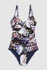 Next Floral Shape Enhancing Swimsuit