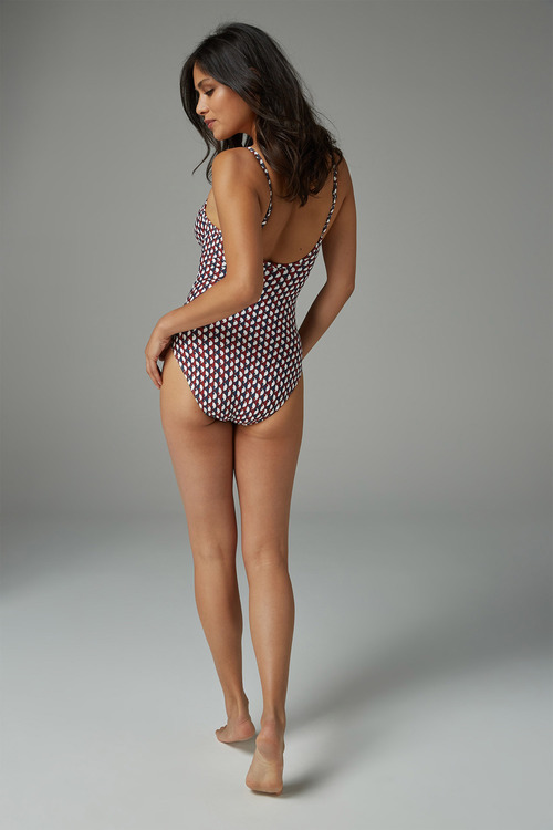 Next Geo Shape Enhancing Swimsuit