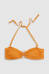 Next Textured Bandeau Bikini Top