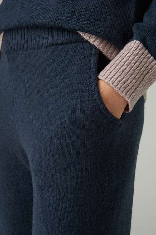 Next Knitted Joggers With Cashmere