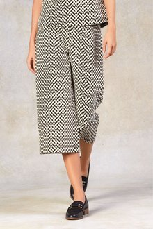 Next Jacquard Culottes-Tall