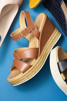 Next Forever Comfort Two Part Wedges - 225843