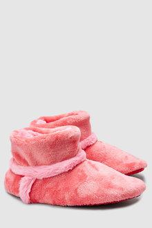 Next Snuggle Slipper Boots