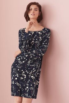 Next Long Sleeve Dress-Petite