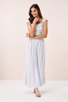Next Stripe Maxi Dress