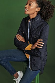 Next Belted Quilted Jacket