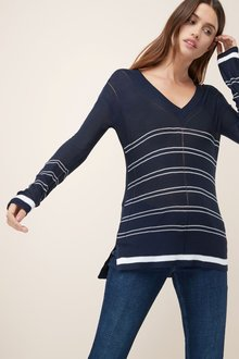 Next V-Neck Sweater-Petite