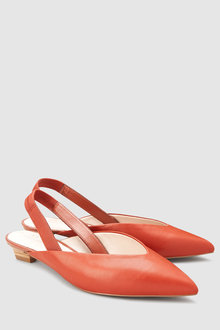 Next Forever Comfort Leather Slingbacks