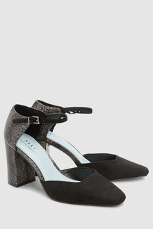 Next Forever Comfort Mixed Material Mary Jane Shoes
