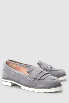 Next Forever Comfort Fringe Leather Loafers