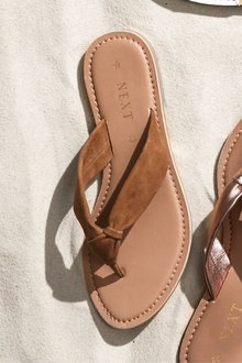 Next Knot Toe Post Sandals