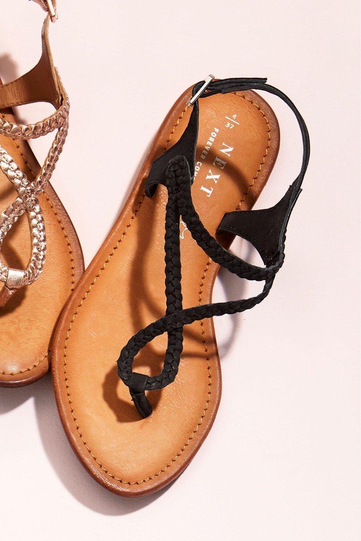 0ff862f8f41 Next Forever Comfort Plaited Toe Thong Sandals Online