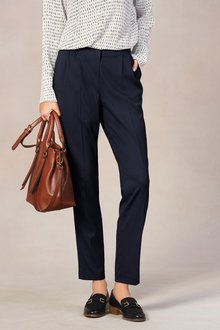 Next Tailored Wide Leg Trousers-Tall - 226051