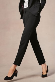 Next Tailored Taper Trousers-Tall