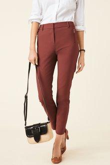 Next Skinny Zip Trousers-Tall - 226055