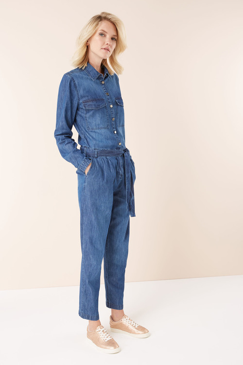 Next Long Sleeved Jumpsuit-Tall
