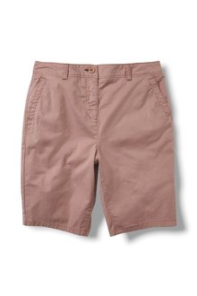 Next Chino Knee Shorts-Tall