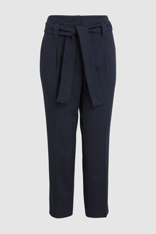Next Belted Taper Trousers-Tall