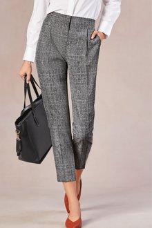 Next Elastic Back Taper Trousers-Tall