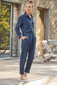Next Long Sleeved Jumpsuit-Petite