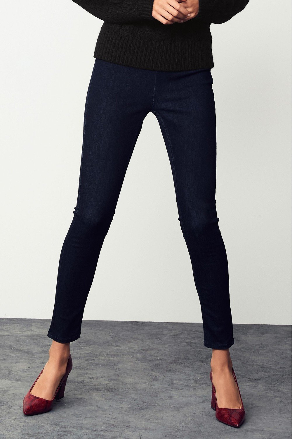 hot-selling clearance best service outlet for sale Next Ankle Length Denim Leggings-Petite
