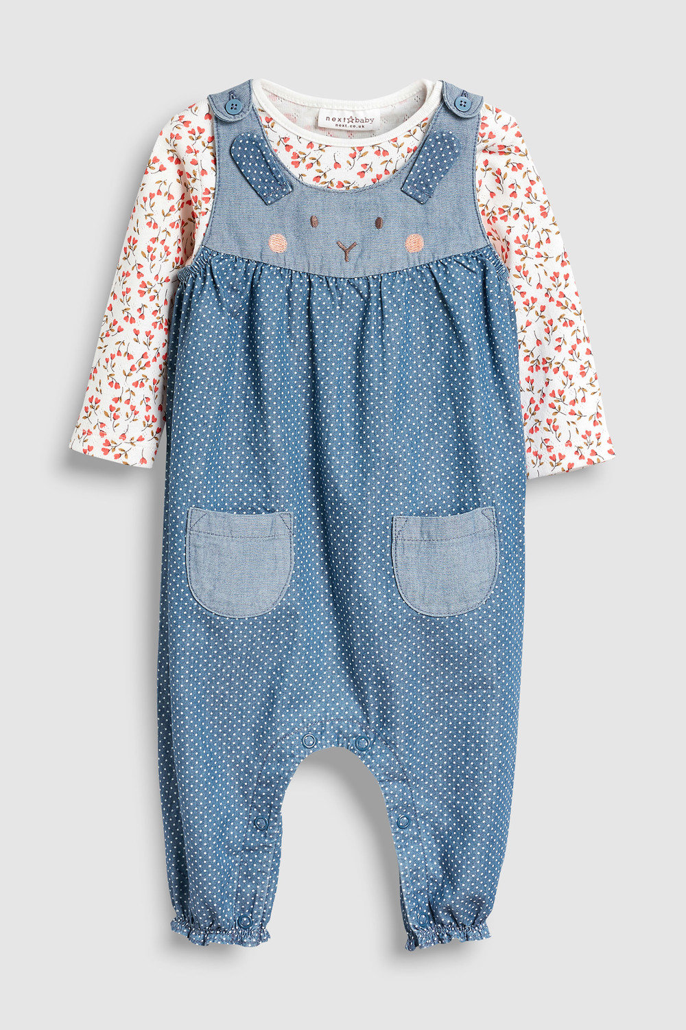 94c726c63 Next Character Dungarees And Bodysuit Set (0mths-2yrs) Online