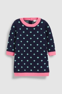 Next Knitted Dress (0mths-2yrs)