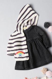 Next Stripe Rainbow Cardigan (0mths-2yrs)