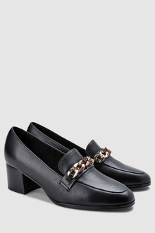 Next Forever Comfort Chain Detail Loafers