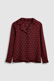 Next Revere Collar Soft Shirt-Petite