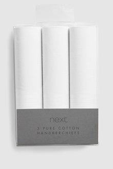 Next Extra Large Handkerchiefs Three Pack