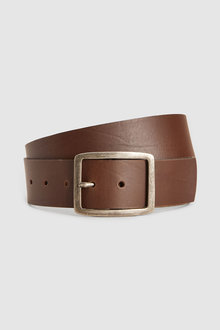 Next Casual Wide Leather Belt